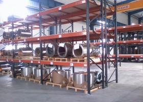 仓库里的货架承载分类