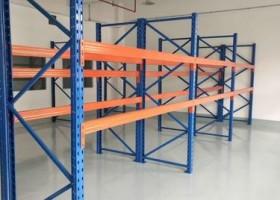 托盘式货架的配件结构